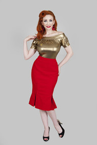 Tatyana Catwalk Skirt - Red