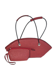Tatyana Atomic Purse - Red