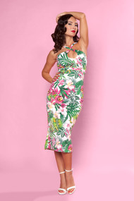 Bettie Page Cross My Heart- Floral