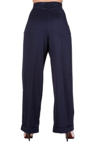 Banned Hidden Away Trousers - Navy