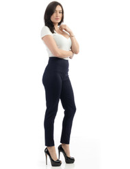 Steady Audrey Cigarette legging - Navy