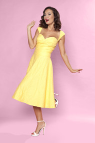 Bettie Page Roman Holiday - Yellow