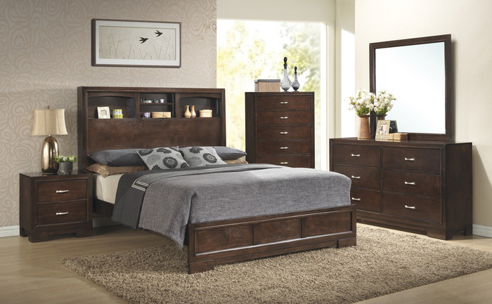Walnut Bedroom
