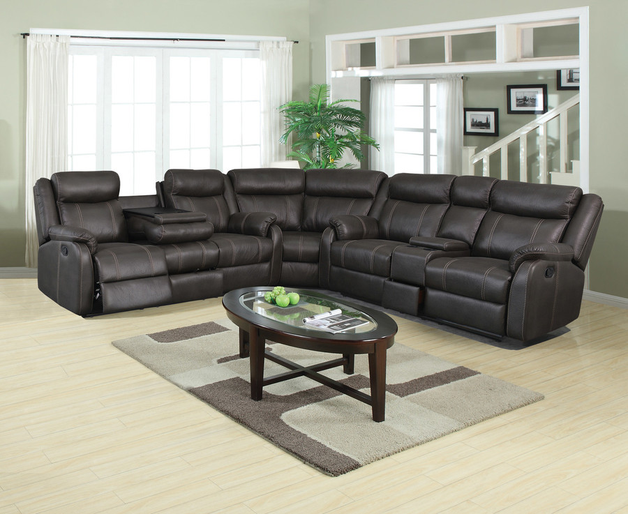 Rummy Charcoal Reclining Collection