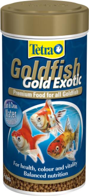 Tetra Goldfish Gold Exotic 80g