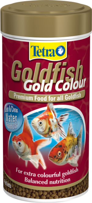Tetra Goldfish Gold Colour 75g