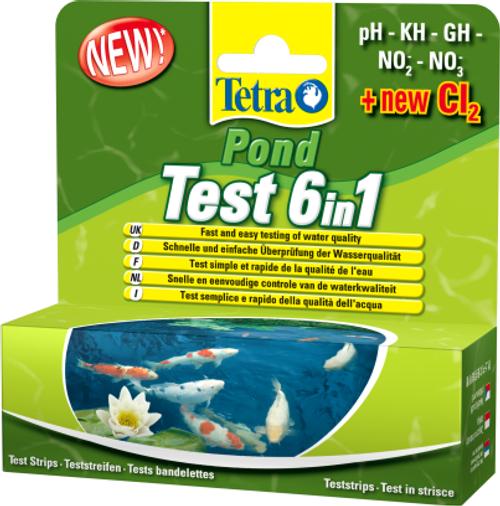 Tetrapond 6 in 1 test strips
