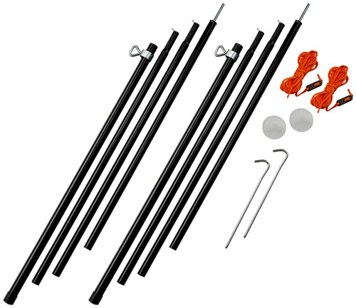 Vango Adjustable Steel King Poles 180-220cm