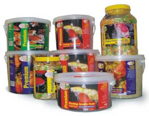 Premium Fish Flake Pond Food  500g
