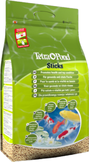 Tetra Pond Floating Food Sticks 15 litre