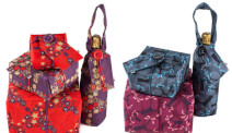 A range of exciting new gift wrap products made from reusable fabric