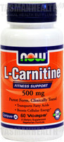 NOW Foods L-Carnitine 500mg