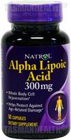 Natrol Alpha Lipoic Acid 300mg