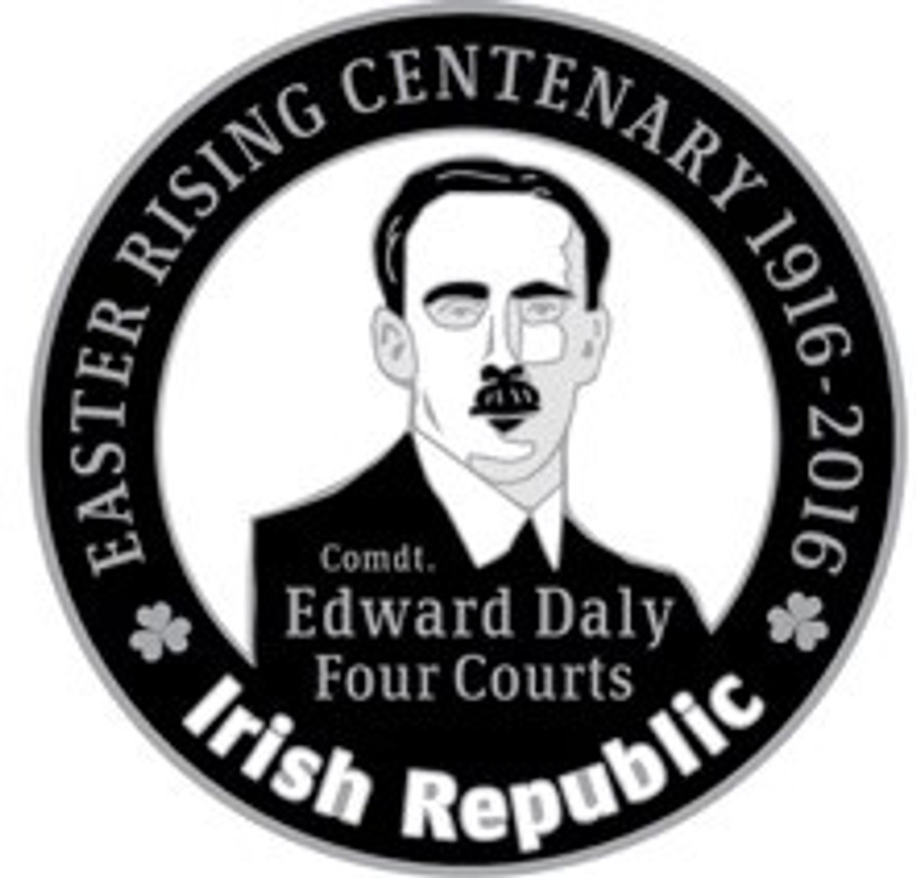 Edward Daly 916 Centenary Badge