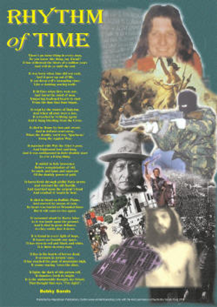 Bobby Sands - Rhythm of Time Poster