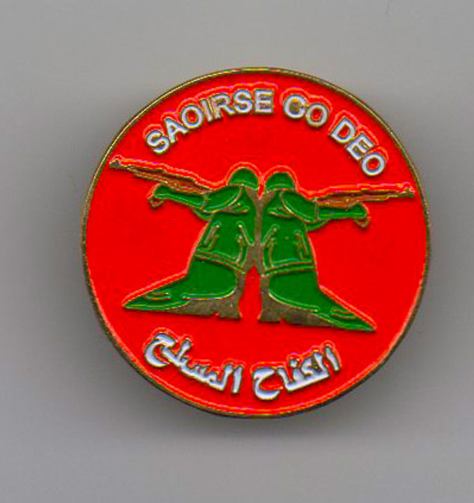 Saoirse go Deo (Freedom Everywhere) pin
