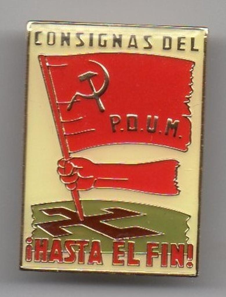 CONSIGNAS DEL POUM - HASTA EL FIN!-Slogans of the POUM - UNTIL THE END!