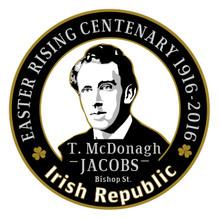 Thomas MacDonagh 1916 Centenary Badge