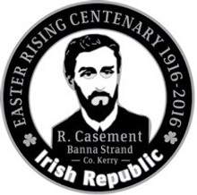 Roger Casement 1916 Centenary Badge