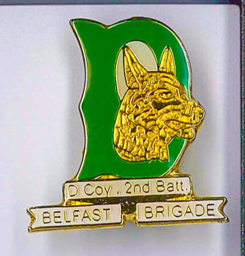 Belfast Brigade - 2nd Bn D Company Badge