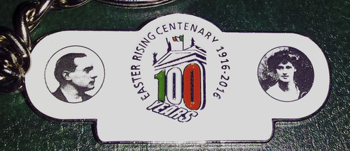 1916 Centenary Key Ring