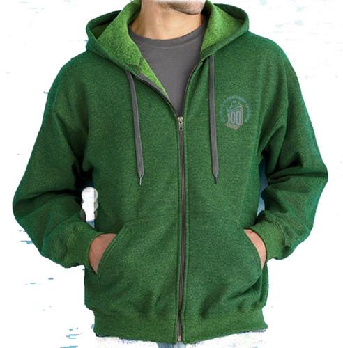 Men's 100 Years green heavy blend Vintage Hoodie