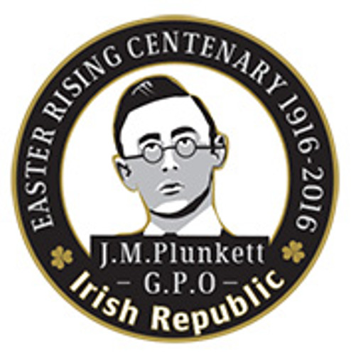 Joseph Mary Plunkett 1916 Centenary Badge