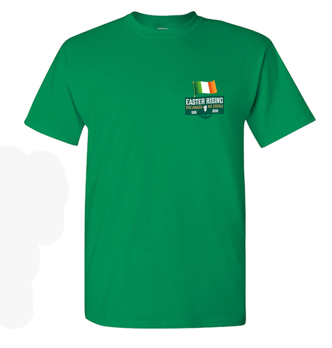 Revolution 1916 Green T Shirt