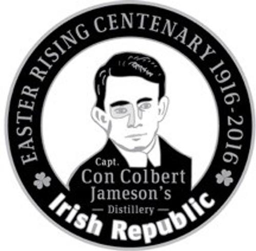 Con Colbert: 1916 Centenary Badge