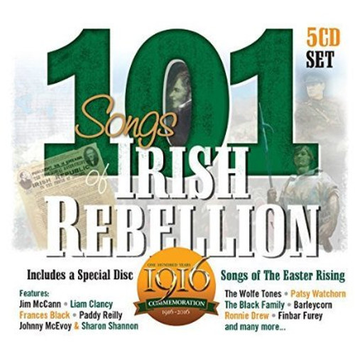 101 Songs of Irish Rebellion - 5CD Set