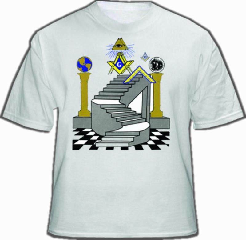 Freemason T Shirt Masonic Apparel Colorful Masonic