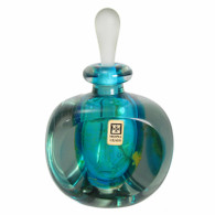 Mdina Perfume Scent Bottle with Label & Signed