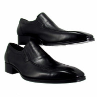 NEW Gucci Men's Slip-On Black Leather Formal Shoes Size 46 / UK 11 Hand Made