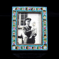 Edwardian Micro Mosaic Small Photo Frame