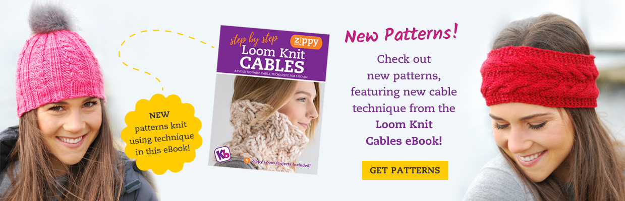 Knitting Looms - Free loom knit patterns and Videos