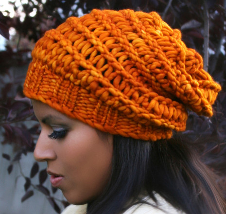 Autumn Slouchy Hat Httpknittingboard