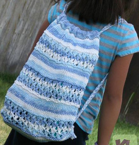 Beach Drawstring Backpack Http Www Knittingboard Com