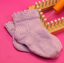 Frilly Edge Baby Sock