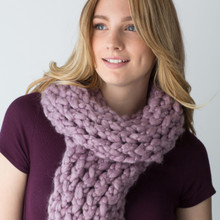 Simple Wrap Chunky Scarf