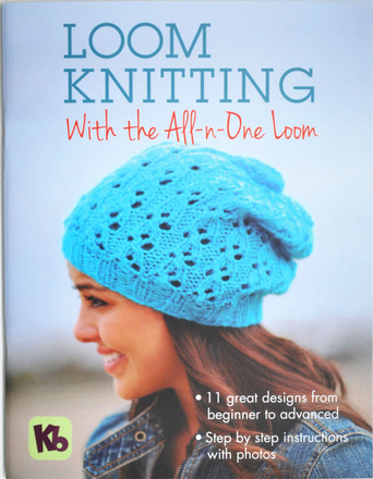 Loom Knitting Book | All-in-One Knitting Loom & Knitting Patterns