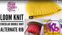 Alternate Rib Stitch with Kristen Mangus