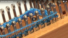 Sock Loom - Stitches