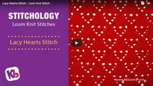 Lacy Hearts Stitch