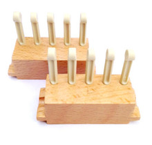 "5 Peg Sliders (3/8"" gauge) for the All-n-One Loom and 10"" Loom"
