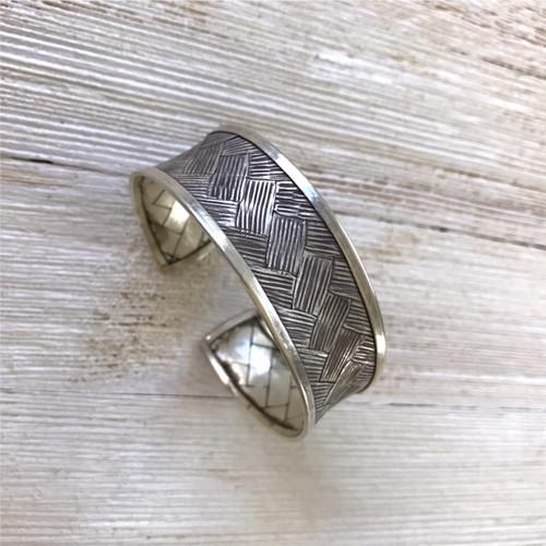 Pure Silver Cuff Bracelet