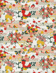 Hanko Designs Floral Garden Washi paper