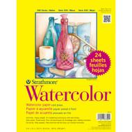"Strathmore Cold Press 140 lb. Watercolor Paper pad 9x12"""