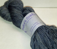 Alexandra's Crafts Black Butte yarn Gun Smoke