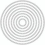 Tutti Designs Nesting Stitched Circles