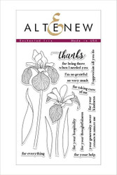 Altenew stamp set Enchanted Iris